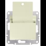 Key-card Switch 10 AX - 250 V AC, Beige