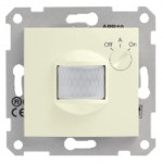 Movement detector with time delay and ambiant light adjustment, Beige