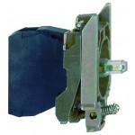 Light block with Integral LED, Blue, 24-120 V AC/DC
