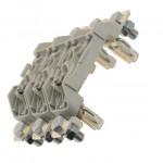 Fuse-base, LV, 160 A, AC 690 V, NH00, 1P, IEC, DIN rail mount, screw mount
