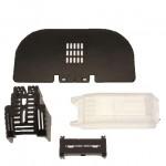 IP protection kit, LV, 630 A, AC 690 V, NH3, 3P, IEC, IP20