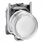 Flush Pushbutton 1 N/O, White - ATEX