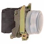 Projecting Pushbutton 1 N/O, Black - ATEX