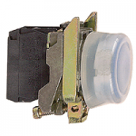 Projecting Pushbutton 1 N/O, Blue - ATEX