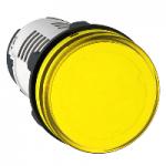 Pilot light with Integral LED 230 V AC, Yellow