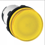 Pilot light with BA 9s base fitting 230 V AC, Yellow