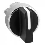 Black Standart handle, Stay put, 3 positions +/- 45°