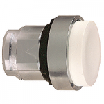 White Projecting head for pushbutton, Push-push with
