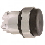Black Projecting head for pushbutton, Push-push with