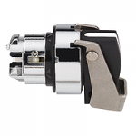 Black Selector switch head, Stay put, Long handle 2 positions 90°