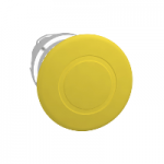 Yellow mushroom head 40 Ø  Push-pull
