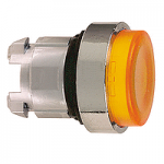 Orange head for pushbutton, Projecting, for Integral LED