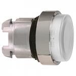 Clear head for pushbutton, Projecting, for BA9s with plain lens
