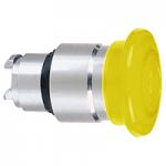 Orange head for pushbutton, Mushroom, for Integral LED