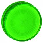 Grooved lenses for BA 9s pilot lights, Green