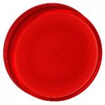 Grooved lenses for BA 9s pilot lights, Red