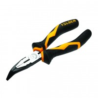 Pliers combined with long jaws bent at 70 degrees 160 mm, 6 '' industrial class