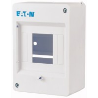 Mini compact distribution board, 1-row 4 SU, IP20