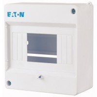 Mini compact distribution board, 1-row 6 SU, IP20