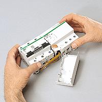 Miniature circuit breaker C120N, 3P, 80 A, B, 20 kA