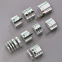 Miniature circuit breaker C120N, 3P, 125 A, D, 20 kA