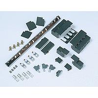 Aluminium terminals, set of 4