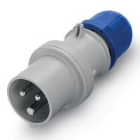 Plug IP95, 200-250 V, 16 A, 2+E, 6 h
