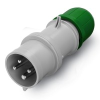 Plug IP59, >50 V, 16 A, 3+E, 10 h