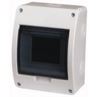 Xboard BC surface enclosure 1 x 5, with translucid door
