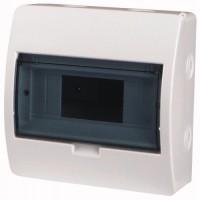 Xboard BC surface enclosure 1 x 8, with translucid door