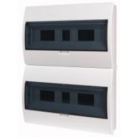 Xboard BC surface enclosure 2 x 18, with translucid door
