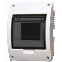 Xboard BC flush enclosure 1 x 5, with translucid door