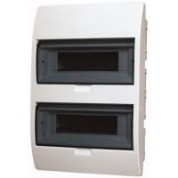 Xboard BC flush enclosure 2 x 12, with translucid door