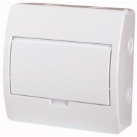 Xboard BC surface enclosure 1 x 8, with plain door