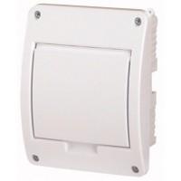 Xboard BC flush enclosure 1 x 5, with plain door