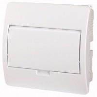 Xboard BC flush enclosure 1 x 8, with plain door