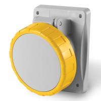 Socket outlet IP66/IP67, 100-130 V, 16 A, 2+E, 4 h