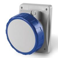 Socket outlet IP66/IP67, 208-250 V, 16 A, 3+N+E, 9 h