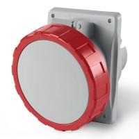 Socket outlet IP66/IP67, 200-250 V, 16 A, 3+E, 6 h