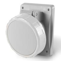 Socket outlet IP66/IP67, trasf., 32 A, 2+E, 12 h