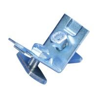Steel Angle Bracket, pre-assembled M8 nut, 40 x 40