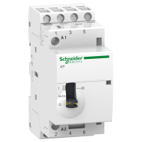 iCT manually operated contactor 3 N/O, 220/240 V, 25 A
