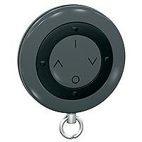 Keyring remote control, 4 keys, Dark grey