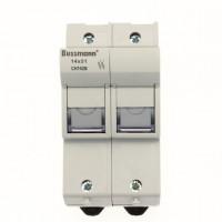 Fuse-holder, LV, 32 A, DC 1500 V, 14 x 51 mm, gPV, 2P, IEC, finger safe, IP20