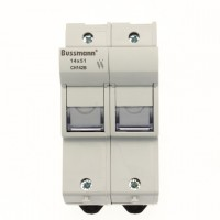 Fuse-holder, LV, 50 A, AC 690 V, 14 x 51 mm, 2P, IEC