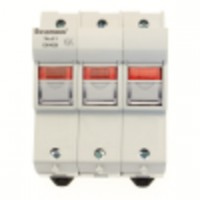 Fuse-holder, LV, 50 A, AC 690 V, 14 x 51 mm, 3P, IEC, indicating