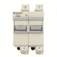 Fuse-holder, LV, 125 A, AC 690 V, 22 x 58 mm, 2P, IEC