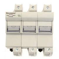 Fuse-holder, LV, 125 A, AC 690 V, 22 x 58 mm, 3P, IEC