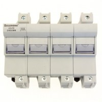 Fuse-holder, LV, 125 A, AC 690 V, 22 x 58 mm, 3P + N + Microswitch, IEC
