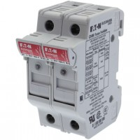 Fuse-holder, LV, 32 A, AC 690 V, 10 x 38 mm, 2P, UL, IEC, indicating, DIN rail mount